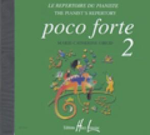 POCO FORTE REPERTOIRE DU PIANO VOL 2 PIANO CD
