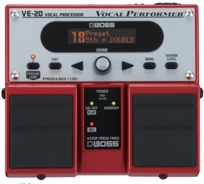 BOSS VE-20 HARMONISER VOCAL