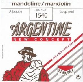 JEU DE CORDES ARGENTINE 1540 POUR MANDOLINE