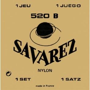 JEU DE CORDES GUITARE CLASSIQUE SAVAREZ 520B