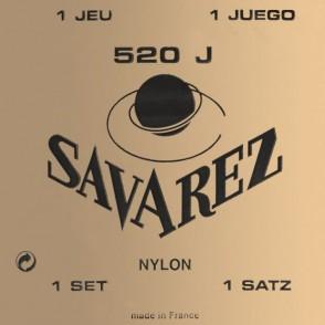 JEU DE CORDES GUITARE CLASSIQUE SAVAREZ 520J