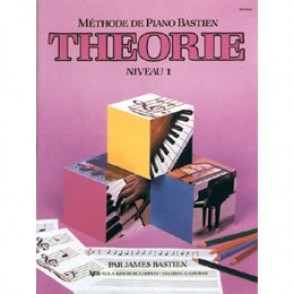 BASTIEN J. METHODE DE PIANO: THEORIE NIVEAU 1