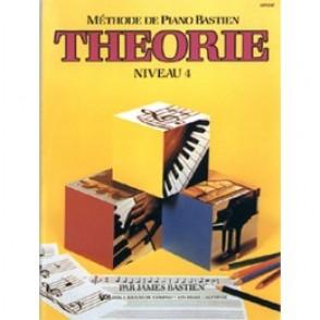 BASTIEN J. METHODE DE PIANO: THEORIE NIVEAU 4