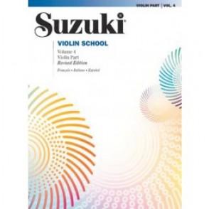 SUZUKI VIOLIN SCHOOL VOL 4 VIOLON
