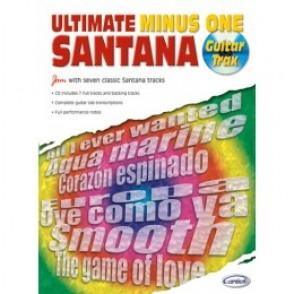 SANTANA C. ULTIMATE MINUS ONE GUITARE