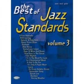 JAZZ STANDARDS BEST OF VOL 3 PVG