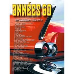 ANNEES 60 PIANO VOCAL GUITARE