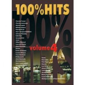 100% HITS VOLUME 4 PIANO CHANT GUITARE