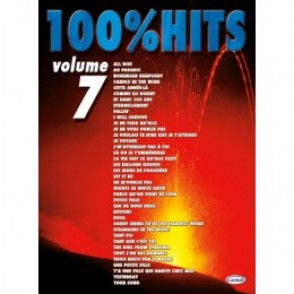 100% HITS VOLUME 7 PIANO CHANT GUITARE