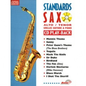 STANDARDS SAX ALTO OU TENOR
