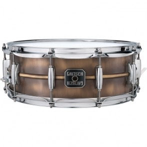 CAISSE CLAIRE GRETSCH BRUSHED BRASS SNARE S5514BB