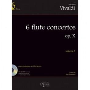 VIVALDI A. FLUTE CONCERTOS OP 10 VOL 1