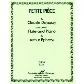DEBUSSY C. PETITE PIECE FLUTE