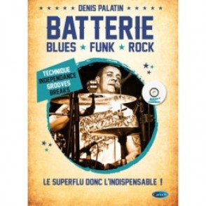 PALATIN D. BATTERIE BLUES - FUNK - ROCK