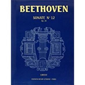 BEETHOVEN L.V. SONATE N°12 OP 26 PIANO