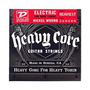 JEU DE CORDES ELECTRIQUE DUNLOP STRINGS DHCN1254 HEAVY CORE 12/54