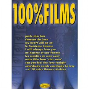 100% FILMS PIANO VOCAL GUITARE