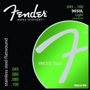 JEU DE CORDES BASSE ELECTRIQUE FENDER 9050L LIGHT 45-100