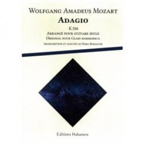 MOZART W.A. ADAGIO K 356 GUITARE