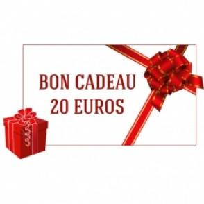 CHEQUE CADEAU DE 20€
