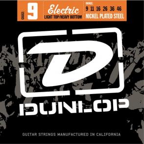 JEU DE CORDES ELECTRIQUE DUNLOP STRINGS DEN0946 FILE ROND NICKEL 09/46