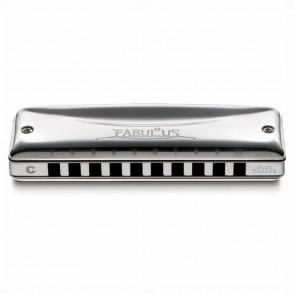 HARMONICA SUZUKI FABULOUS DIATONIQUE C 10 TROUS TEMPERE F20JC