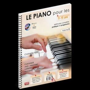 ASTIE C. LE PIANO POUR LES 9 - 15 ANS VOL 2
