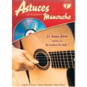 ROUX D./DEBARRE A./DAUSSAT S. ASTUCES DE LA GUITARE MANOUCHE