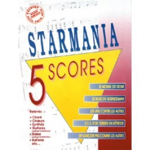 BERGER M./PLAMANDON L. STARMANIA 5 SCORES