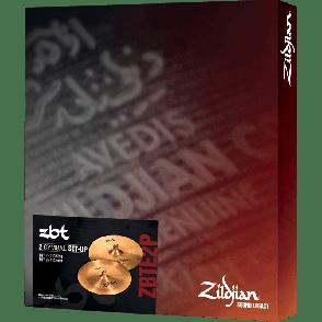 "ZILDJIAN ZBT EXPANDER 18""  CRASH ET CHINA"