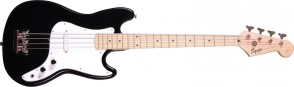 SQUIER BRONCO BASS BLACK MAPLE