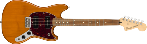 FENDER PLAYER MUSTANG 90 AGED NATURAL PAU FERRO