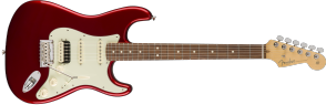 FENDER AMERICAN PROFESSIONAL STRATOCASTER HSS SHAWBUCKER CANDY APPLE RED ROSEWOOD