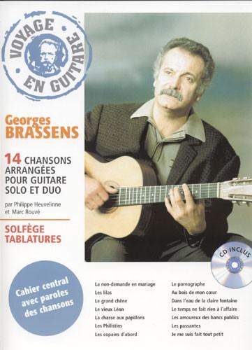 Brassens g voyage en guitare - Les amoureux des bancs publics paroles ...