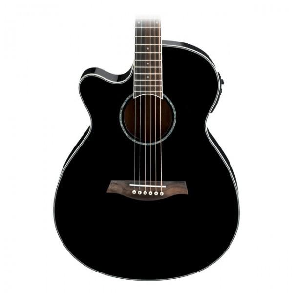 Guitare Folk électro-acoustique gaucher Ibanez AEG10LII-BK ...