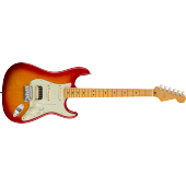 FENDER AMERICAN ULTRA STRATOCASTER HSS PLASMA RED BURST MAPLE