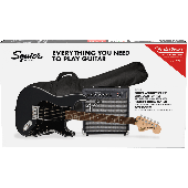 PACK SQUIER AFFINITY SERIES STRATOCASTER HSS CHARCOAL FROST METALLIC