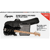 PACK BASSE SQUIER PRECISION BASS PJ PACK BLACK