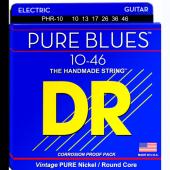 JEU DE CORDES DR PHR-10 PURE BLUES 10-46