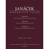 JANACEK L. CAPRICCIO PIANO ET CUIVRES