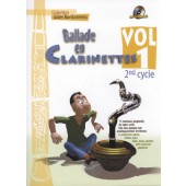 BORDONNEAU G. BALLADE EN CLARINETTE 2ME CYCLE VOL 1