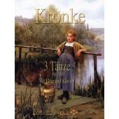 KRONKE E. 3 TANZE OP 180 FLUTE