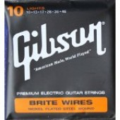 JEU DE CORDES GUITARE ELECTRIQUE GIBSON BRITE WIRES SEG-700L 010.046