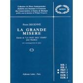 DEGENNE P. LA GRANDE MISERE HAUTBOIS