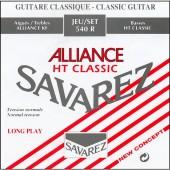 JEU DE CORDES GUITARE CLASSIQUE SAVAREZ 540R ALLIANCE ROUGE