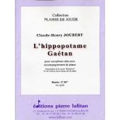 JOUBERT C.H. L'HIPPOPOTAME GAETAN SAXO ALTO
