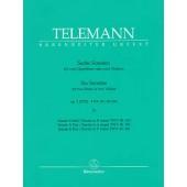TELEMANN G.P. SONATES OP 2 VOL 2 FLUTES OU VIOLONS