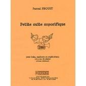 PROUST P. PETITE SUITE SOPORIFIQUE TUBA OU SAXHORN OU EUPHONIUM