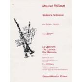 FAILLENOT M. SICILIENNE FANTASQUE CLARINETTE