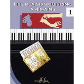 LES PLAISIRS DU PIANO A 4 MAINS VOL 1